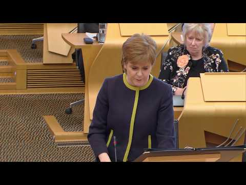 First Minister's Questions - 29 March 2018