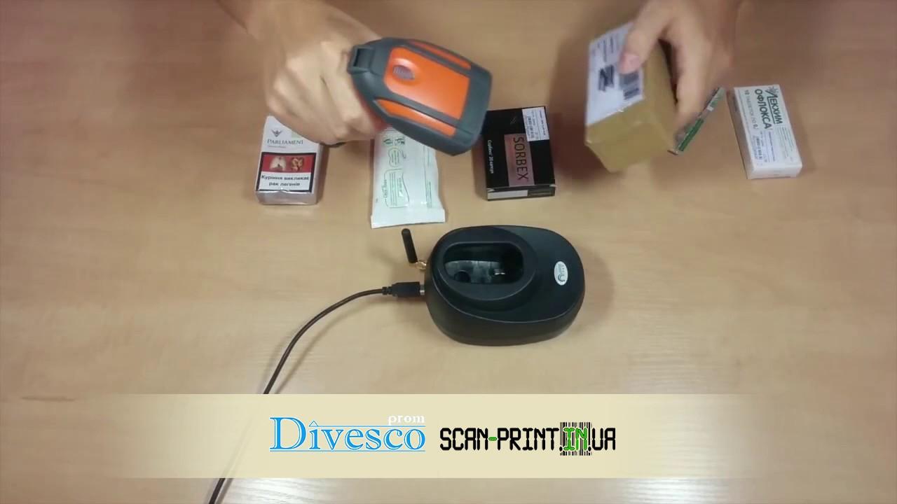 Сканер штрих-кода Zebex Z-3000/Z-3100 - YouTube