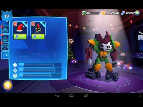 Как взломать Angry Birds Transformers.