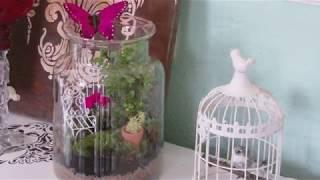 DIY -  Sommer im Glas - Fairy Garden in a Jar