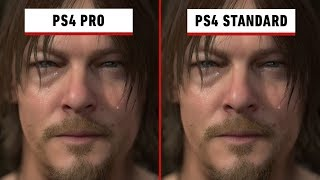 Death Stranding: Graphics Comparison - PS4 vs. PS4 Pro