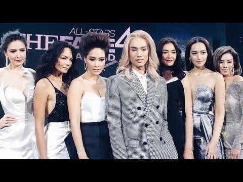 งานเปิดตัว The Face All Stars พร้อมเมนเทอร์ทั้ง 6 คนและสาวๆ The Face Thailand