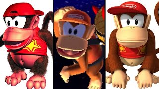 the evolution of diddy kong 1994 2017