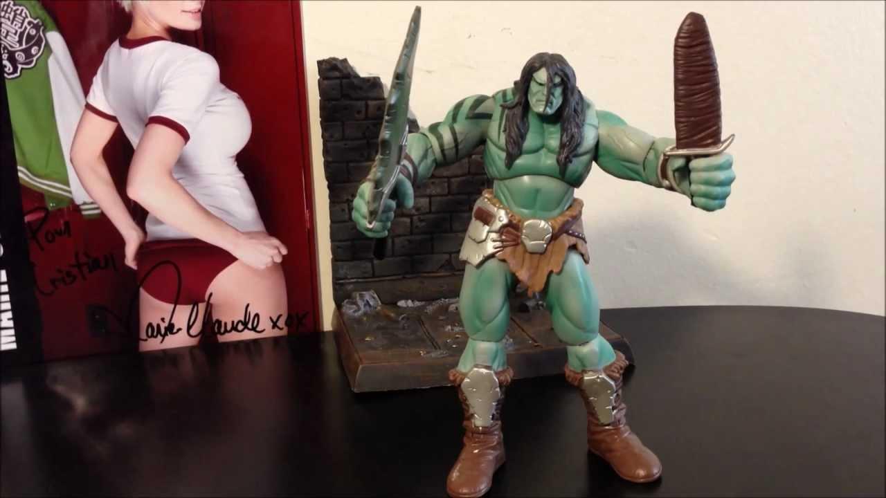 marvel legends skaar hijo de hulk por hasbro review en