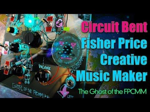 Circuit Bent Fisher Price Creative Music Maker
