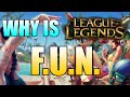 Why is League of Legends so Popular/Addicting/Fun?
