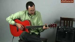 Acoustic Guitar Review - Alvarez-Yairi WY1TWR Acoustic-Electric