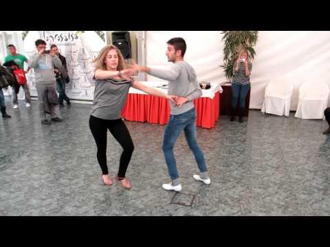 """Bailando Salsa Cubana - """"Gente De Zona - La Silicona"""" - Taller Erik y Monica (Vitoria)"""