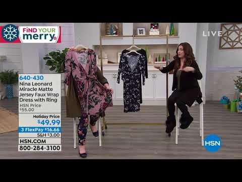 HSN | Nina Leonard Fashions. http://bit.ly/2FwJ1RD