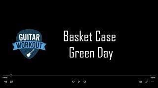 Basket Case - Green Day - Guitar Karaoke