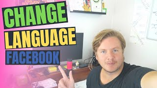 How To Change Language On Facebook 2020