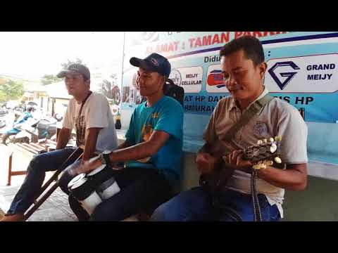 Ketipung pralon musisi jalanan GUNUNGKIDUL di Bakso Pak Wariyun Wonosari AKU CAH KERJO