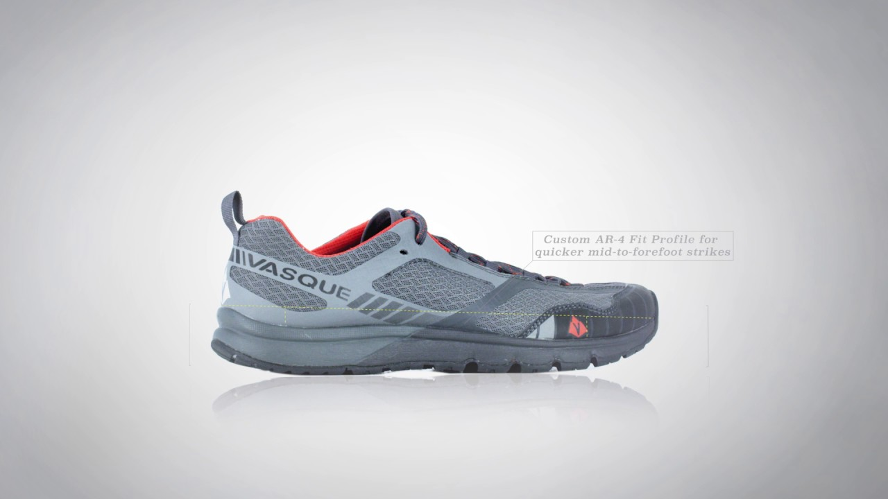 Vertical Velocity trail running shoes