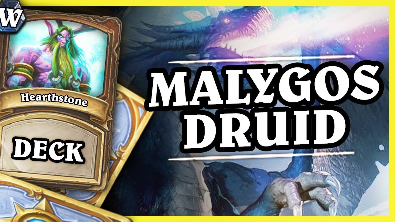 Tons of damage – MALYGOS DRUID – Hearthstone Deck Wild (K&C)