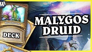 Tons of damage - MALYGOS DRUID - Hearthstone Deck Wild (K&C)