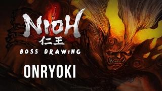 Nioh Boss Drawing - Onryoki