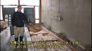 福島県森林文化記録映像【第22章 会津桐(後編)】