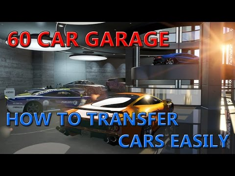 GTA ONLINE: How To Move Cars To 60 Car Garage EASILY!!
