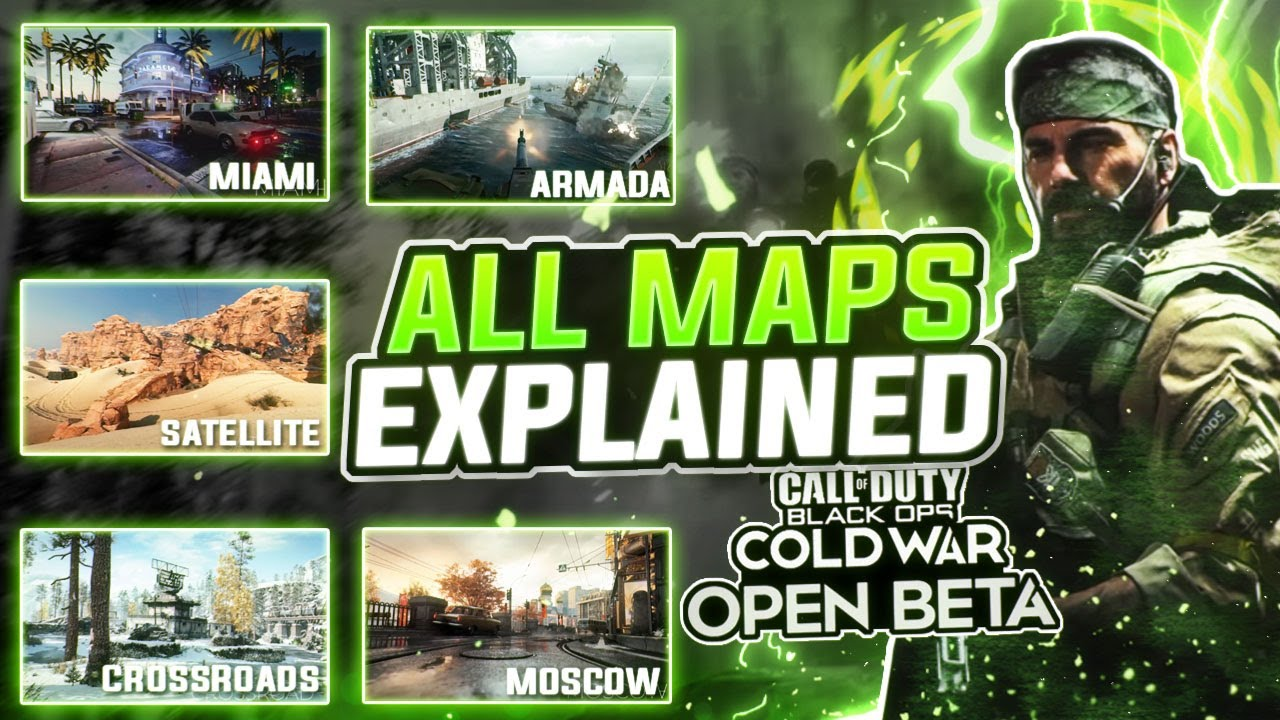 Cod Black Ops Cold War Beta All Maps Explained Youtube