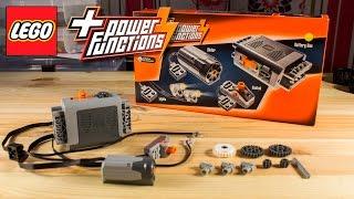 видео Lego, набор с мотором Power Functions 8293