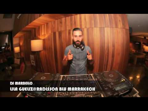 live radio - LILA Gueliz @ Radisson Blu Marrakech (By Dj Mar