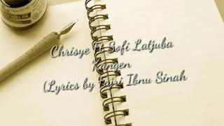 Gambar cover Kangen (Chrisye feat Sophia Latjuba Lyrics)