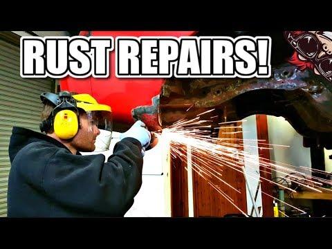 🐒 HOW TO DO A RUST REPAIR ON A WHEEL ARCH / REAR QUARTER