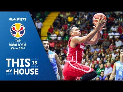 Panama vs. Uruguay - FIBA Basketball World Cup 2019 - American Qualifiers