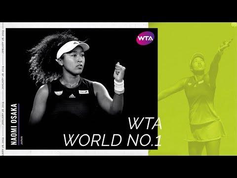 Naomi Osaka is WTA World No.1