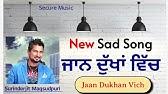 Surinderjit Maqsudpuri Full Song UDEKAN Presented by Secure