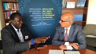 Interview with George Abungu at UNESCO, Paris, 1st June 2018