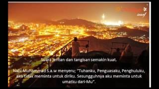 Tangisan Rasulullah SAW di Padang Mahsyar - share