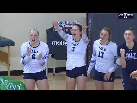 Inside Yale Athletics Sponsored by Under Armour: Yale Volleyball Senior Class