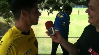Blog do Wellington Araújo com CICINHO no CT do Cruzeiro.MOV