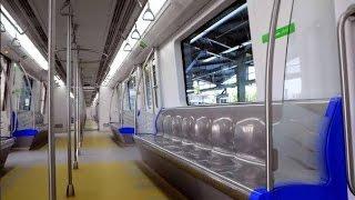 Mumbai Metro Train    Full Coverage Of Arrival & Inside Train In Versova Mumbai India 2015