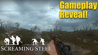 Screaming Steel First Gameplay Showcase! (WW1 Day of Infamy Mod)