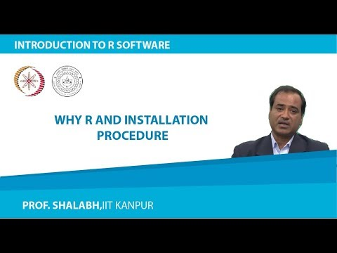 Why R and Installation Procedure