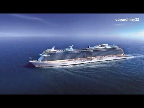New cruise ships 2016-2019