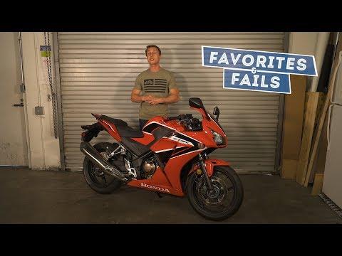 2018 Honda CBR300R - Favorites & Fails