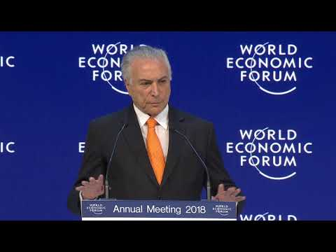 Special Address by Michel Temer, President of Brazil