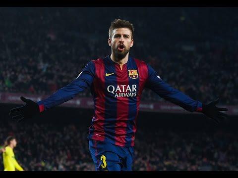 Gerard Pique All 16 Goals FC Barcelona - Liga BBVA