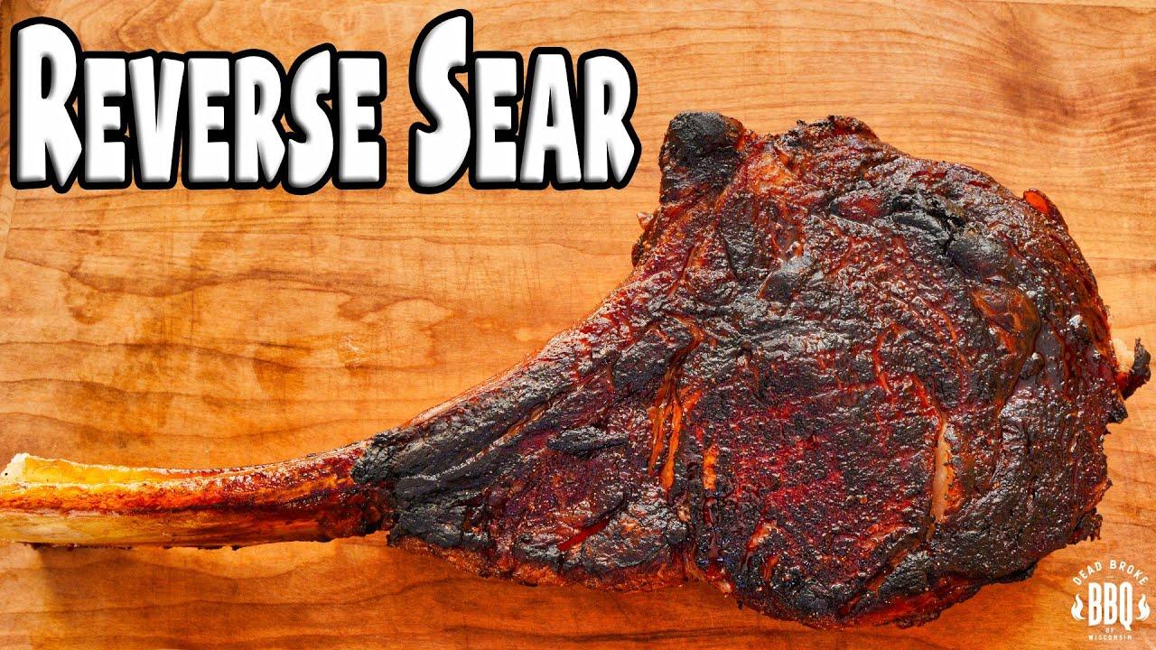 Reverse Seared Ribeye using our BBQ Mud