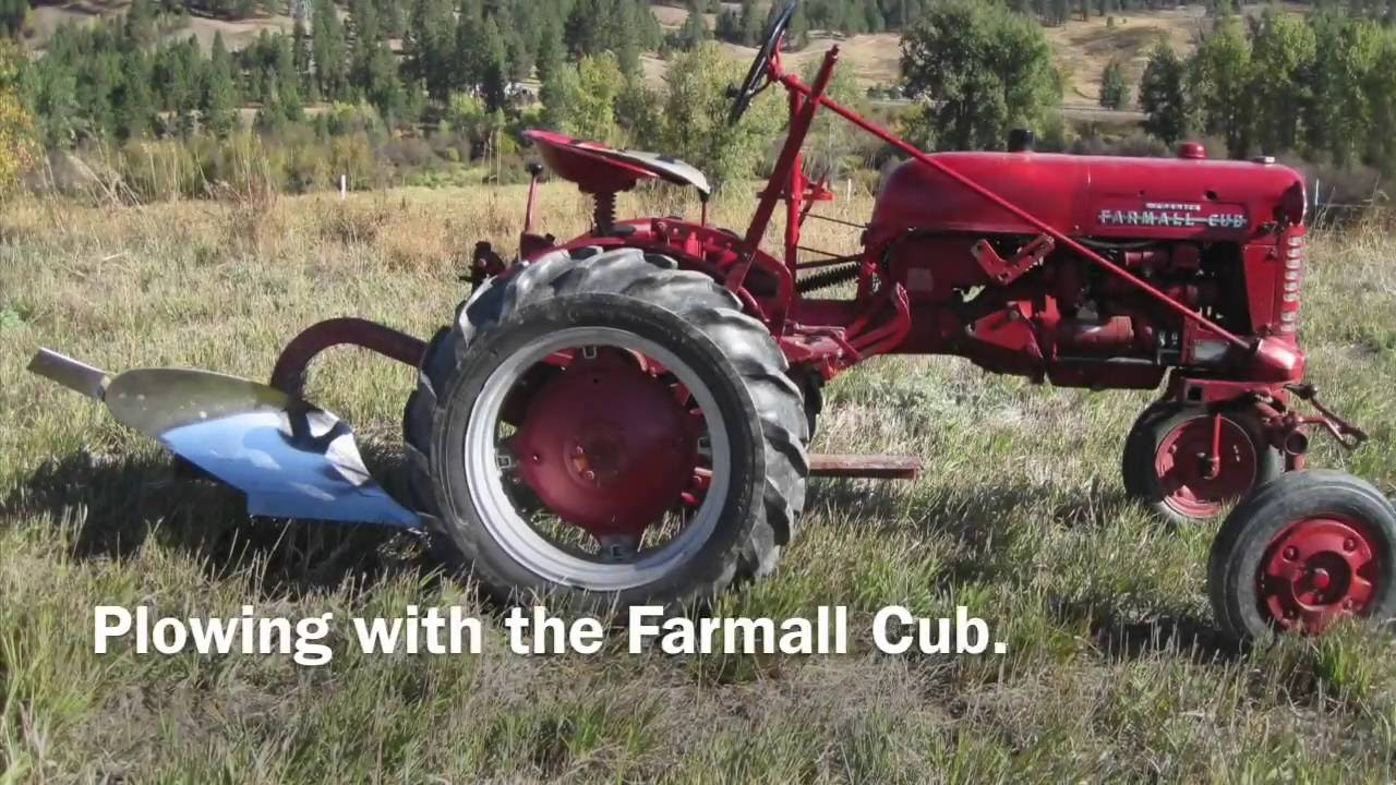 farmall cub plow hook up Plow-mounting instructions for the farmall confirm that it is a one- or two-bottom plow, since the farmall super a has back the tractor up slowly until the.