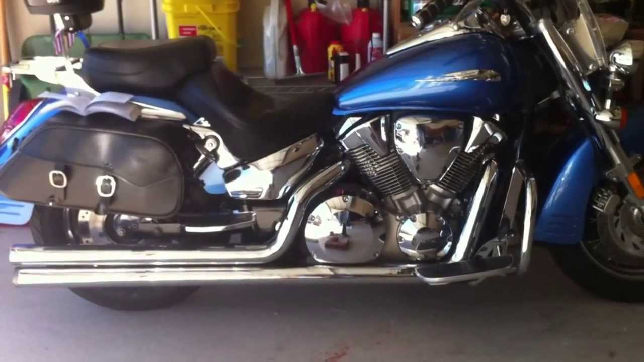 Honda Vtx 1300 Oil Change Youtube
