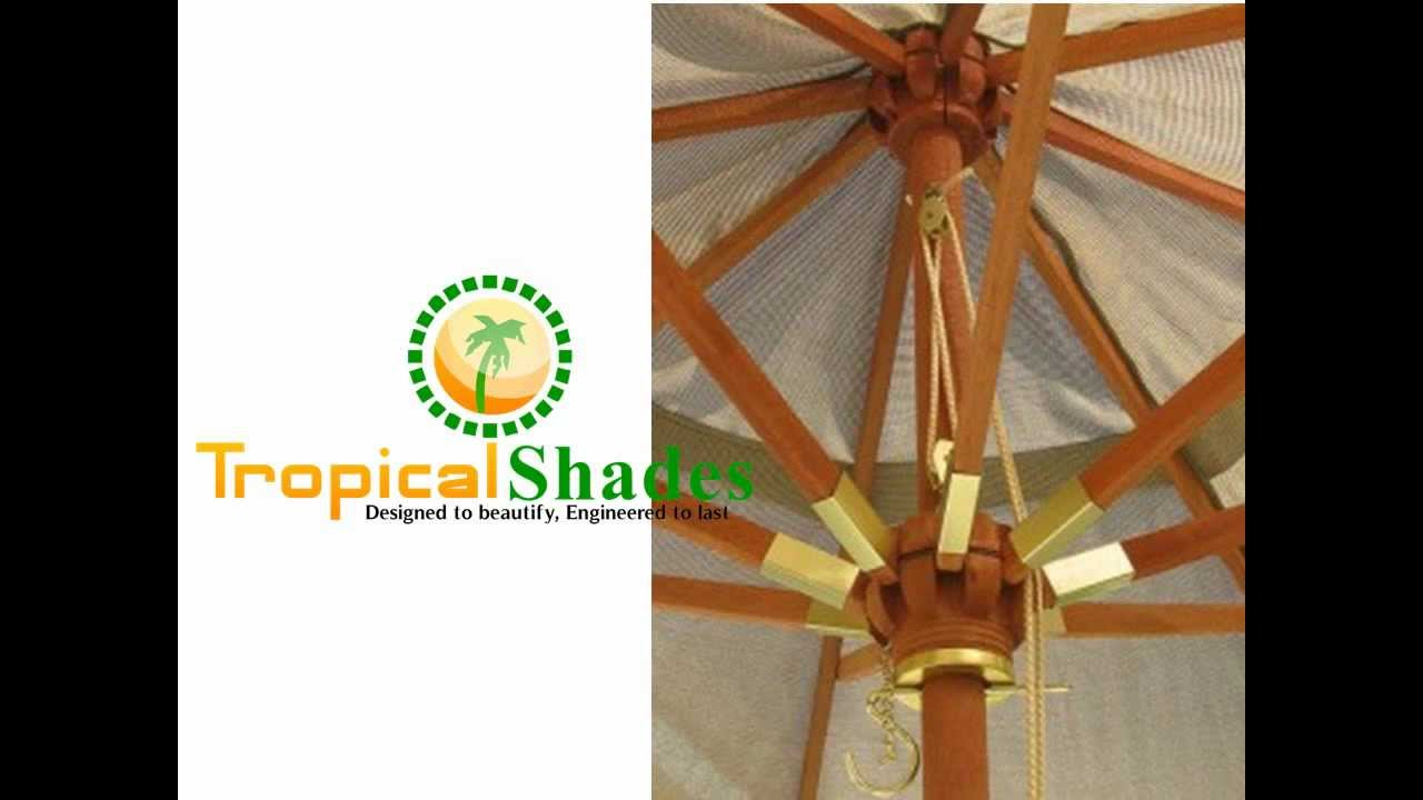 Awesome Customized Patio Umbrellas By Tropical Shades   YouTube