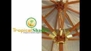 Customized Patio Umbrellas By Tropical Shades