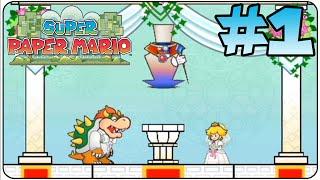 Super Paper Mario Walkthrough Part 1 Prologue