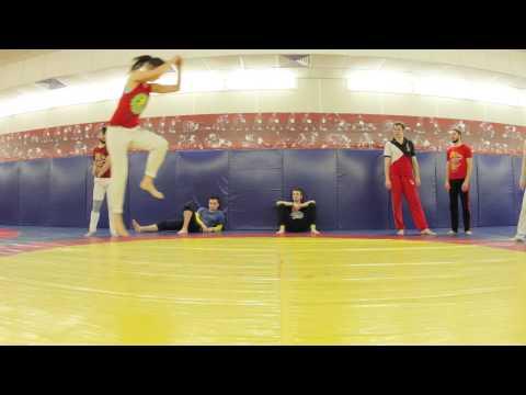Girls prepearing for Capoeira Moleca 2015. Russian Center for Capoeira