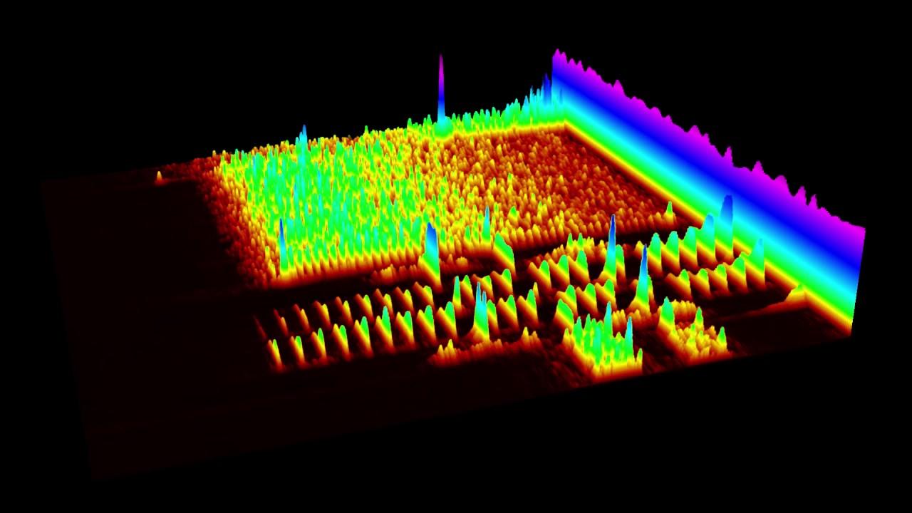 Dial Modem Handshake Sound Spectrogram After