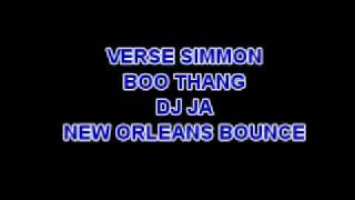VERSE SIMMON - BOO THANG (NEW ORLEANS BOUNCE)